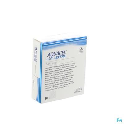 Aquacel Extra Verb Hydrofiber+versterk. 5x 5cm 10