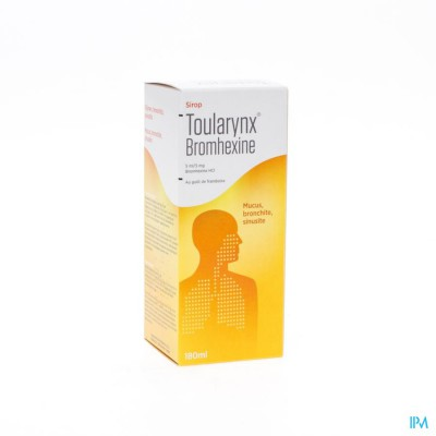 TOULARYNX BROMHEXINE SIR 180 ML