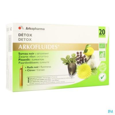 Arkofluide Detox Bio Unicadoses 20 Verv.2622074
