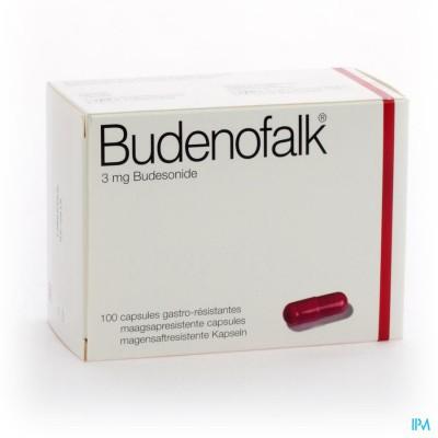 BUDENOFALK CAPS 100 X 3 MG