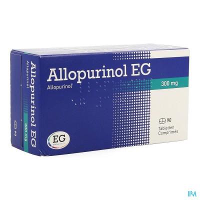 ALLOPURINOL EG COMP 90 X 300 MG