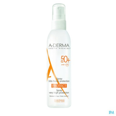 ADERMA PROTECT SPRAY IP50+ 200ML