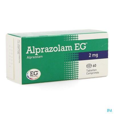 ALPRAZOLAM EG COMP 60 X 2,00MG