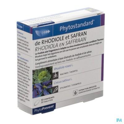 Phytostandard Rhodiola-saffraan Comp 30