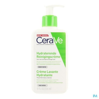 CERAVE CR REINIGING HYDRATEREND 236ML