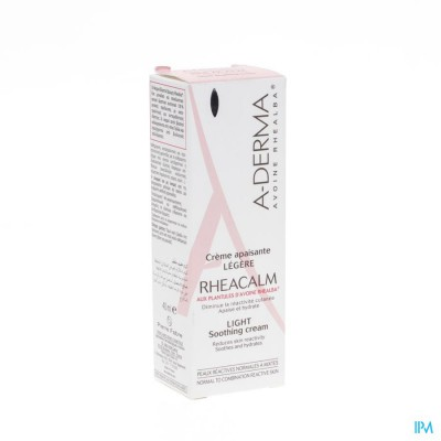 ADERMA RHEACALM CR VERZACHTEND LICHT TUBE 40ML