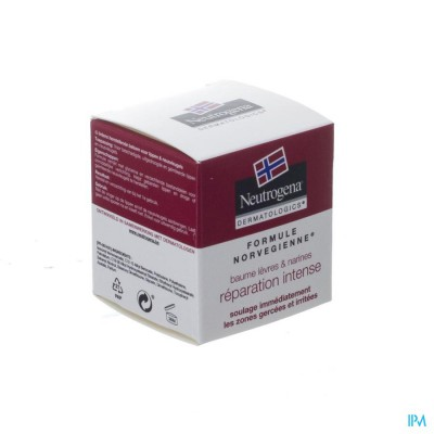 Neutrogena N/f Lip&neusvleugelbalsem Pot 15ml