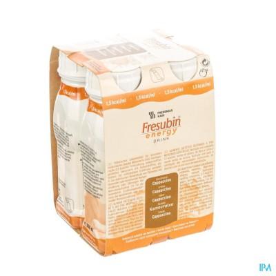 Fresubin Energy Drink Cappuccino Fl 4x200ml
