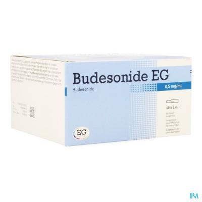 BUDESONIDE EG 0,50MG/ML VERNEVELSUSP AMP 60X2ML