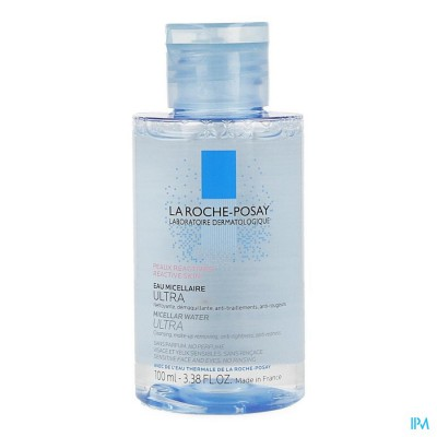 LRP TOIL PHYSIO MICELLAIRE OPL. REACT. HUID 100ML