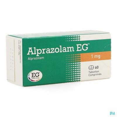 ALPRAZOLAM EG COMP 60 X 1,00MG