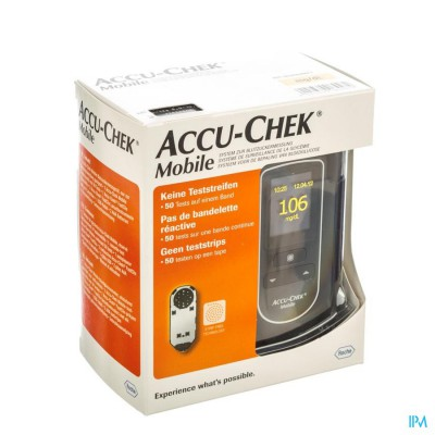Accu Chek Mobile Test Cassette 50 Tests 7141254171
