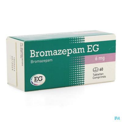 BROMAZEPAM EG COMP. 60 X 6 MG
