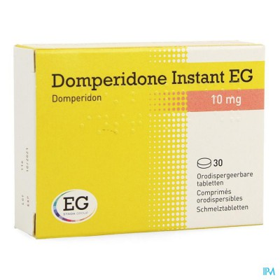 DOMPERIDONE INSTANT EG ORODISP TABL 30 X 10 MG