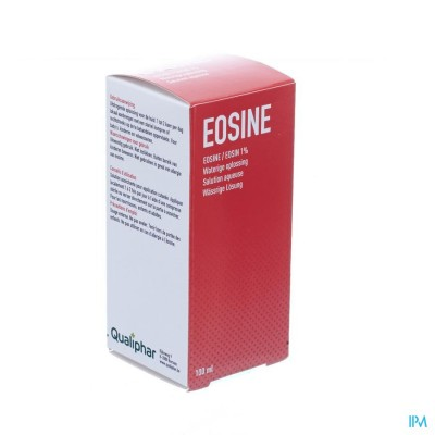 EOSINE 1% QUALIPHAR OPLOSSING 100ML