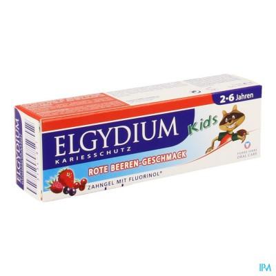ELGYDIUM KIDS TANDP 2-6J RODE VRUCHT.Z/PARAB. 50ML