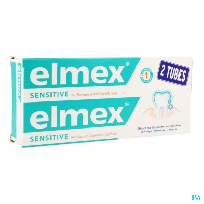 ELMEX SENSITIVE TANDP TUBE 2 X 75ML