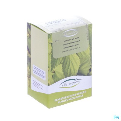 Kamillebloem Roomse Doos 50g Pharmafl