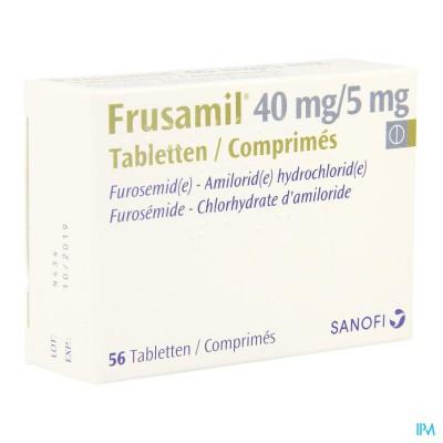 Frusamil Comp 56 X 40mg/5mg