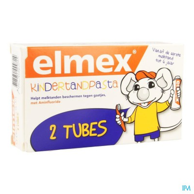 ELMEX KIND TANDP TUBE 2 X 75ML