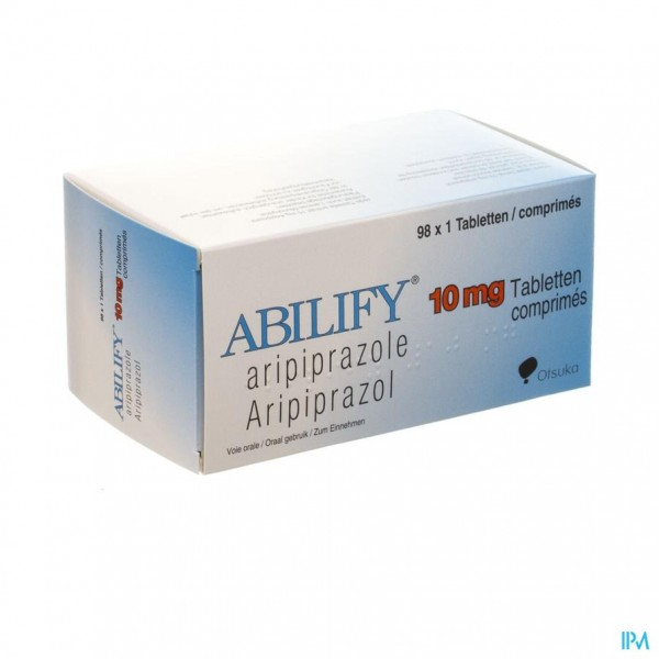 ABILIFY 10 MG COMP 98 X 10 MG